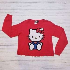 Hello Kitty Sweater- Small, Red